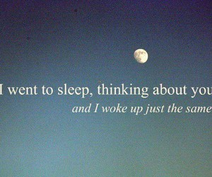 love, quotes, and sleep image