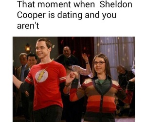 funny, forever alone, and the big bang theory image
