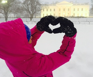 d.c., love, and snow image