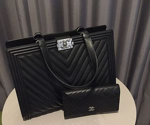 chanel, luxury, and purse image