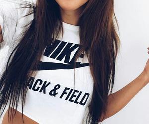 girl, nike, and fashion image
