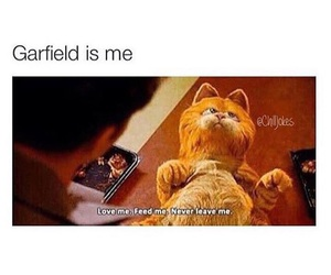 love, garfield, and Relationship image