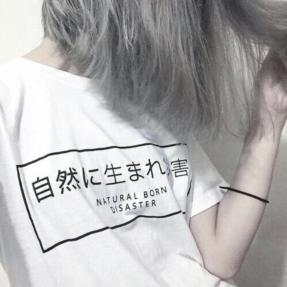 grunge, white, and hair image