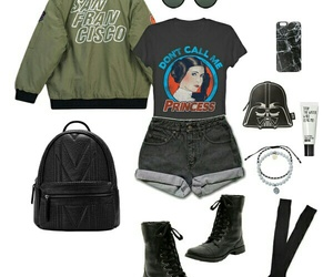 casual, fashion, and geek image