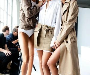model, gigi hadid, and Lily Aldridge image
