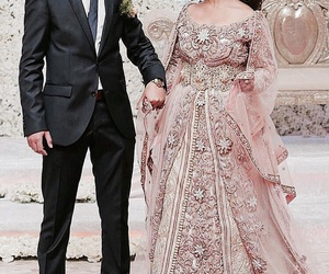 wedding, marriage, and caftan image