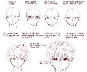 manga, drawing, and anime image