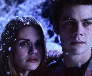lydia, stiles, and teen wolf image