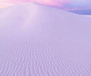 pink, sand, and purple image