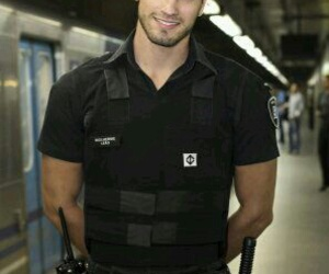 boy, Hot, and police image