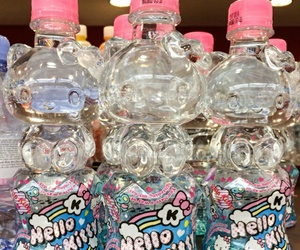 water, aesthetic, and hello kitty image