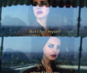 lana del rey, quotes, and lost image