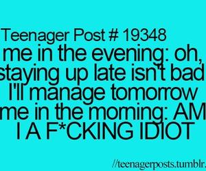 teenager post, funny, and teenager image