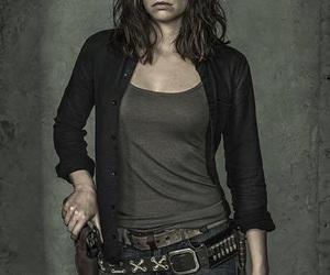 Maggie, the walking dead, and lauren cohan image