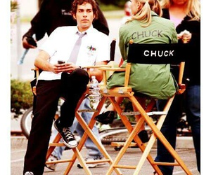 chuck, chuck bartowski, and eyes image