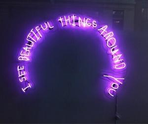 decor, lights, and neon image