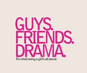 drama, guys, and friends image