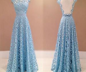 dress, pretty, and prom dress image