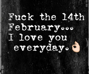 love, quotes, and february image