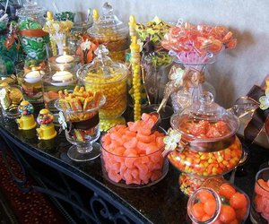 candy, candy bar, and candy buffet image