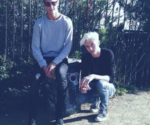 boy, lucky blue smith, and neels visser image
