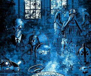 blue, silence, and doctor who image
