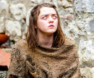 arya stark, season 6, and game of thrones image