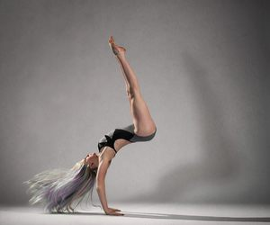 ballerina, colorful, and dance image