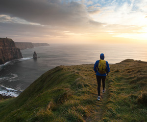 adventure, cliffs of moher, and landscape image