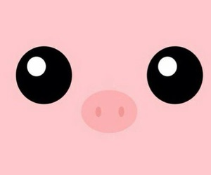pig, pink, and animal image