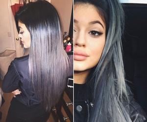 kylie jenner, hair, and eyes image