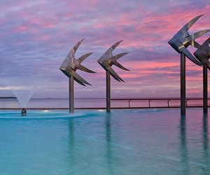 Cairns, colour, and pool image