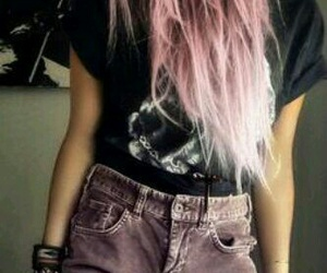 body, hair, and pink image