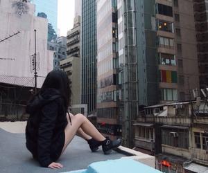 girl, korean, and pale image