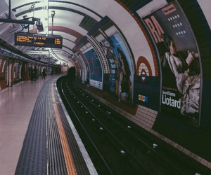 london, piccadilly circus, and underground image