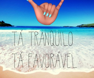 beach, praia, and hangloose image