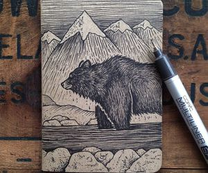 drawings, diy, and notebook image