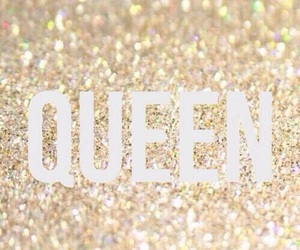 Queen, wallpaper, and glitter image