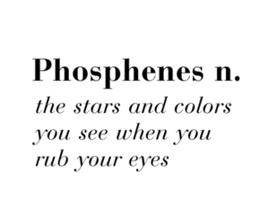 stars, eyes, and quotes image
