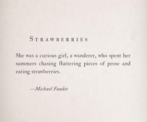 quotes, strawberry, and poem image