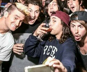 pierce the veil, all+time+low+, and sleeping with sirens image