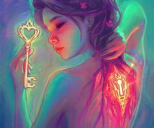 key, art, and destinyblue image