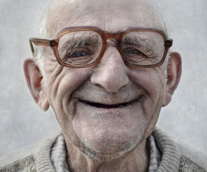 smile, glasses, and man image