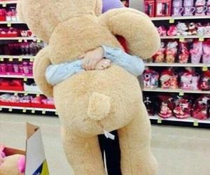 love, bear, and teddy bear image