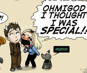 cartoon, doctor who, and fandom image