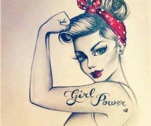 girl, power, and girl power image