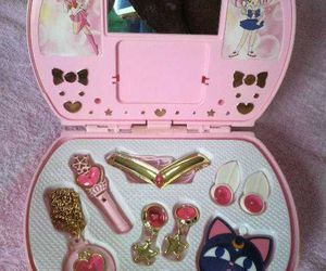 sailor moon, pink, and toys image