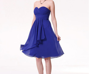 short bridesmaid dresses and blue bridesmaid dresses image
