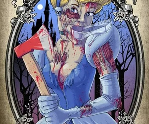 infancia, princess, and zombie image