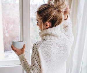 fashion, sweater, and beauty image